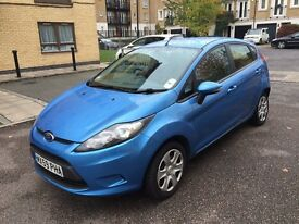 Ford fiesta 2009 petrol 1.3 full service history manual low malige