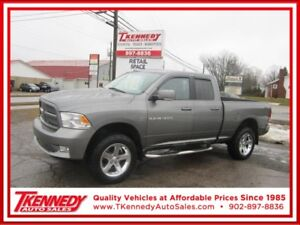 2011 DODGE RAM 1500 4WD QUAD CAB SPORT ONLY $16,988.
