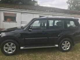 2007 Mitsubishi Shogun 3.2 DI-DC LWB Elegance Black 7 SEATS SAT NAV LEATHER