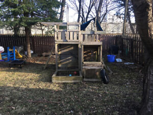 outdoor Jungle Gym  - out door play-set