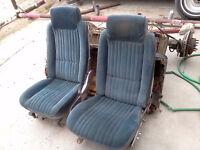 Cutlass seats from an 80's car
