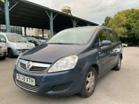 2008 (08) Vauxhall Zafira 1.6i Exclusiv   Long MOT   Low Miles   7 Seats