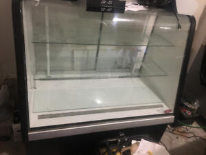 $900 Commercial Display Corner Fridge/Refrigerator Cooler good