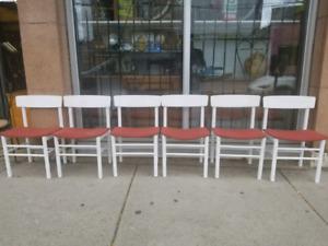 6 MCM Danish Teak Chairs