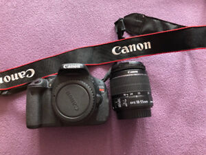 Cannon T4i Camera And lens