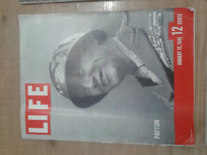 Hundreds of 1940s and 1950s Life magazines