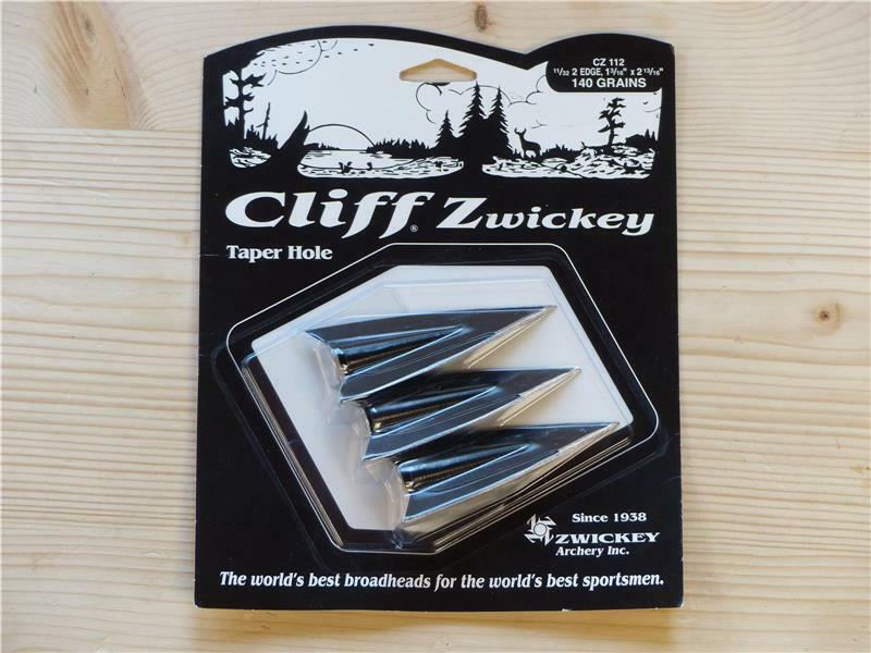 Zwickey EskiLite Broadhead  2 blade Glue on  110grs  5//16ths