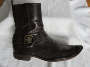 Mark Nason Leather Boot - Men's Size 11 (UK10) Made in Italy