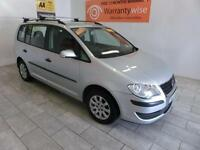 2007 Volkswagen Touran 1.6 100 ROOF BARS, ALLOYS, ***BUY FOR ONLY £21 A WEEK***