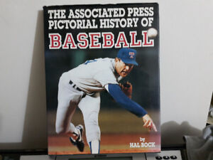 HUGE BASEBALL BOOK IN COLOR ALL PICTURES--like new cond--SUPER N