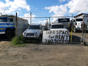 Commercial yard space for rent