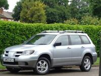 2003 MITSUBISHI OUTLANDER 2.4 AUTOMATIC***FSH 13 SERVICE STAMPS + 1 OWNER***