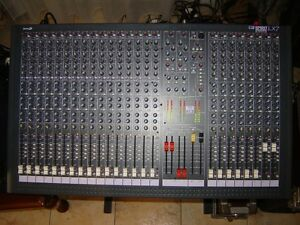 Soundcraft LX7 24 Channel Mixer with new SSI Road case $850 OBO