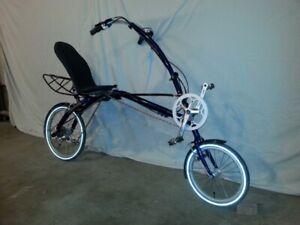 recumbent bike folding