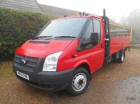 2012 FORD TRANSIT 2.2TDCI 125BHP LWB TAIL LIFT 1 OWNER FSH