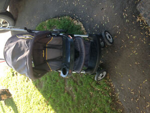 Baby trend sit and stand lx