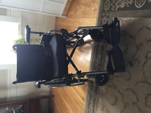 Wheelchair and accessories