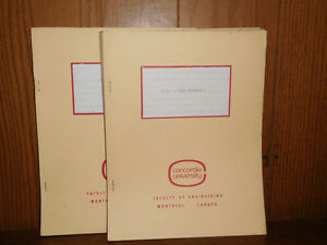 FLUID MECHANICS 1 &2. CONCORDIA UNIVERSITY. NOTES. West Island Greater Montréal image 2