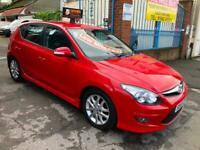 Hyundai i30 1.6 ( 119bhp ) 2010 60 reg,37k, Edition,red,credit to last owner