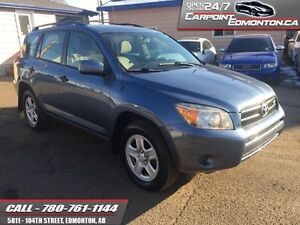 2007 Toyota Rav4 VERY VERY CLEAN ONE OWNER LOW KMS!!  - local -
