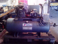 Compresseur 80 gallons 5 hp 2 stages industriel 18cfm