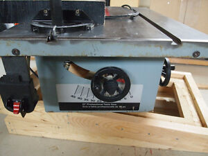 "Delta professional 10"" table saw (body only)"