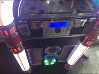 STEEPLETONE JUKEBOX / BLUETOOTH / CD / USB / SD / RADIO IN BLACK