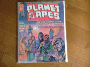 Planet Of The Apes Magazine #1 (1974)-Reduced