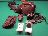Nikon D90 c/w  Sigma 18-250mm len, Slingshot case and more
