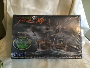 Revell Mdel Caribbean Pirate Ship Model Sealed