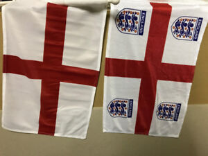 Country Car Flags with Hard Thick Stick Quality Double Stitched