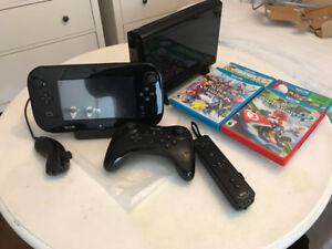 Wii U With 4 games And 2 controllers!