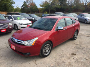 2010 Ford Focus SE Sedan *Low Kms* *Accident Free* *Certified*