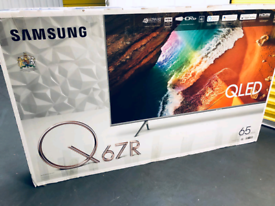 65 inch new smart Samsung QLED sliver colour magic remote control