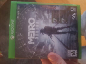New metro exodus for the xbox one or trade for cards