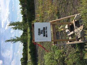 Dump Site for Clean Fill near Lorette