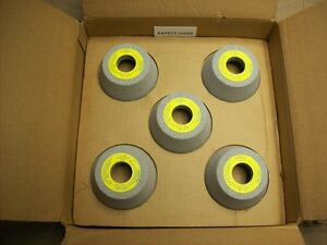Norton Flared Cup Alundum grinding wheels (Box of 10)