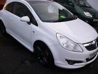 Vauxhall Corsa 1.2 Limited Edition in white / Long Mot / 1 former owner