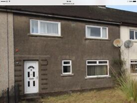 3 bed mid terraced for rent in tullibody