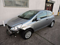 61 Vauxhall Corsa 1.2i S Damaged Salvage Repairable