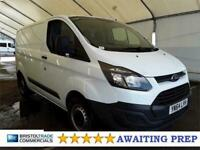 2014 Ford Transit Custom TDCi 270 ECOnetic Panel Van Diesel Manual
