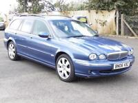 Jaguar X-TYPE 2.2D Estate, 2006 SE, FSH, 6 Months AA Warranty