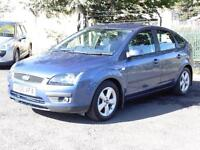 Ford Focus 1.8TDCi 2006 Zetec Climate, Blue, 56 000 Miles, 6 Months AA Warranty