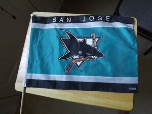 FS: San Jose Sharks NHL Flag