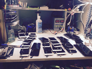 Apple repair: dead, water damaged, screen replacement iphon4,5,6