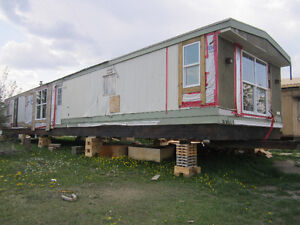 For sale AS IS, 3 BR Mobile home - must be moved