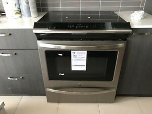 Convection Induction Slide-In Range BRAND NEW! -3-YEAR WARRANTY