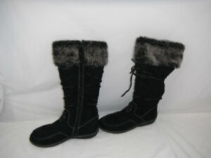 Black Fall boots size 9, good condition
