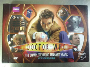 Doctor Who: The Complete David Tennant Years -  26 Disc Set