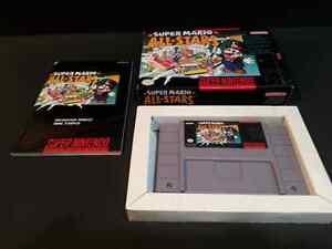 CIB Near Mint Super Mario All Stars $80